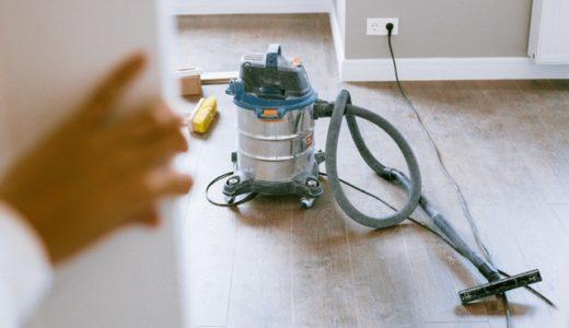 毎日の掃除は3種類だけのズボラ生活